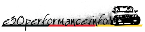 E30 Performance Logo